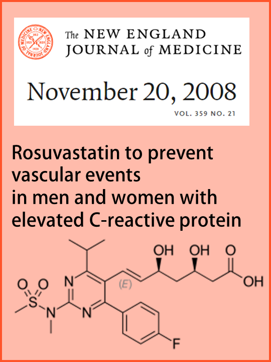 Rosuvastatin to prevent vascular events in men and women with elevated C-reactive protein